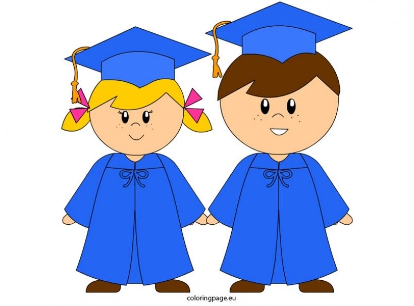 820x606 Gallery For Gt Kindergarten Graduation Clipart Graphics Intended