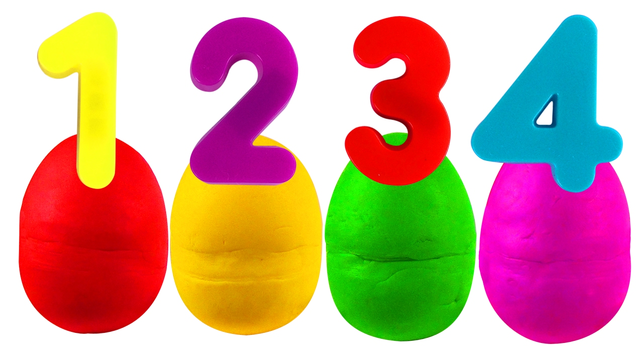 1280x720 Play Doh Numbers Surprise Abc Songs For Children, Kindergarten