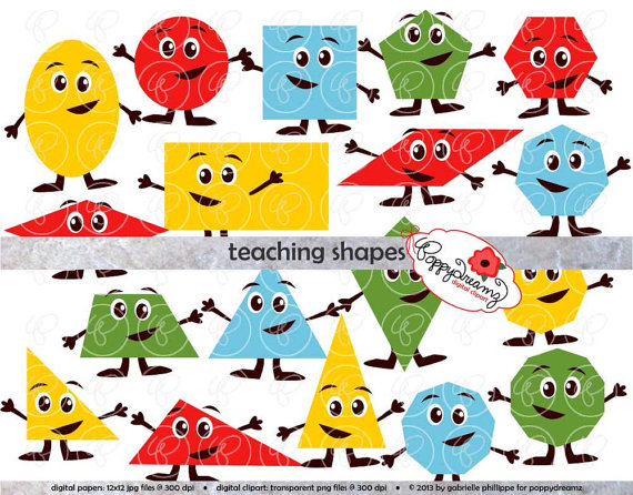 570x446 Teaching Shapes Flashcards And Clipart