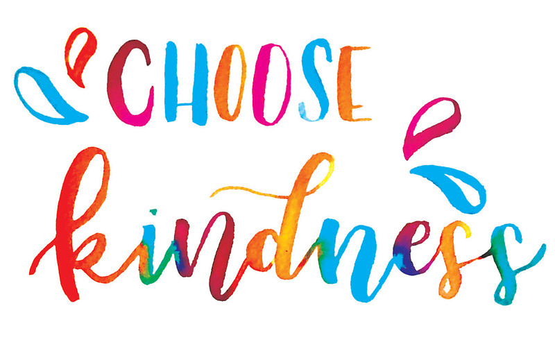 800x493 Choose Kindness Stickers By Leahsletters Redbubble
