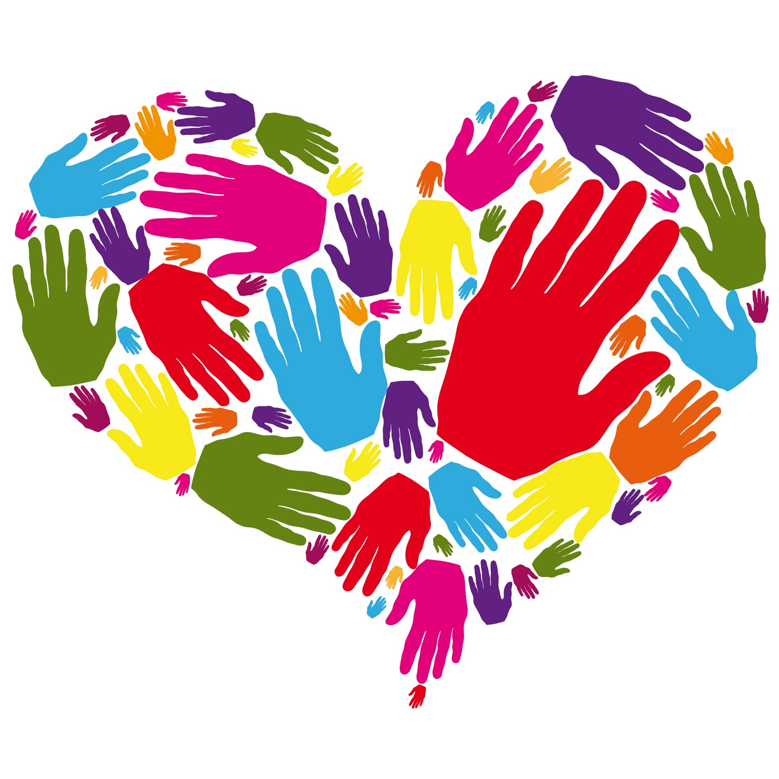 1600x1600 Helping Hands Clip Art
