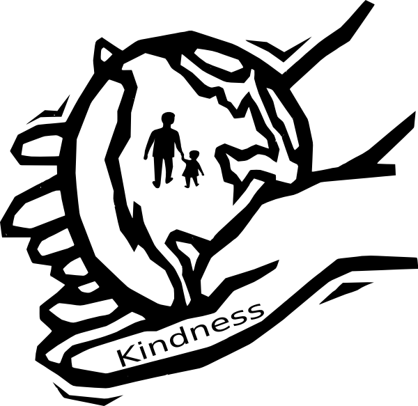600x583 Act Of Kindness Clipart