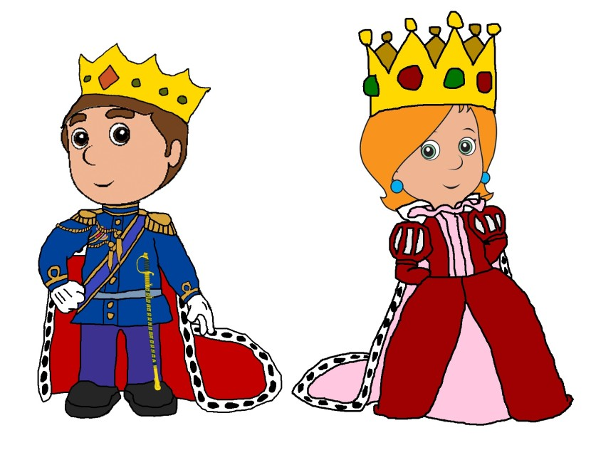 830x639 Queen Clipart King And Queen