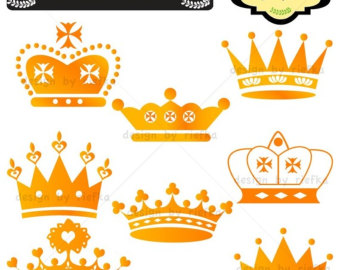 340x270 Gold Queen Crown Clipart
