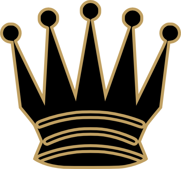 600x563 Gray Queen Crown Clip Art