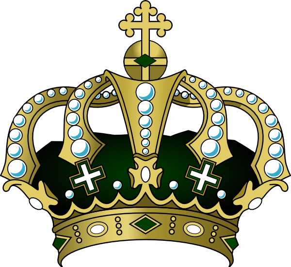 600x551 King Crown Clipart