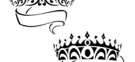 272x125 Queen Crown Drawing Free Download Clip Art Free Clip Art