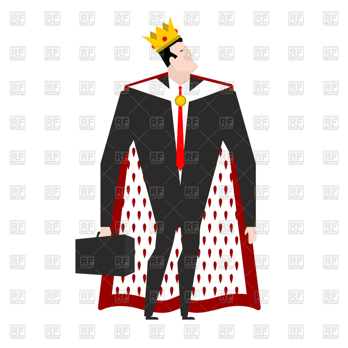 King Crown Cartoon Clipart