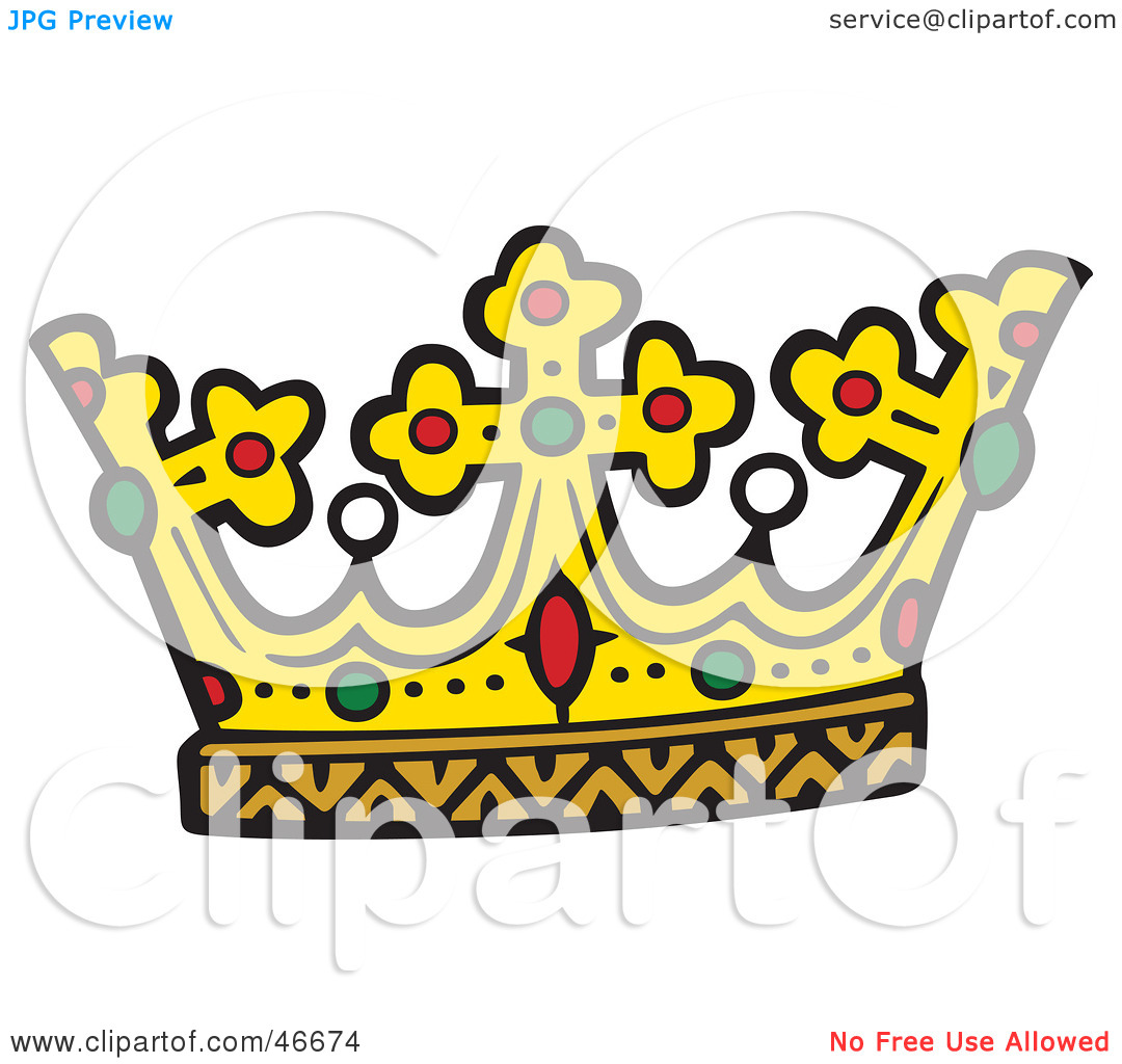 1080x1024 King Crown Clip Art Clipart Illustration Of A Kings Crown