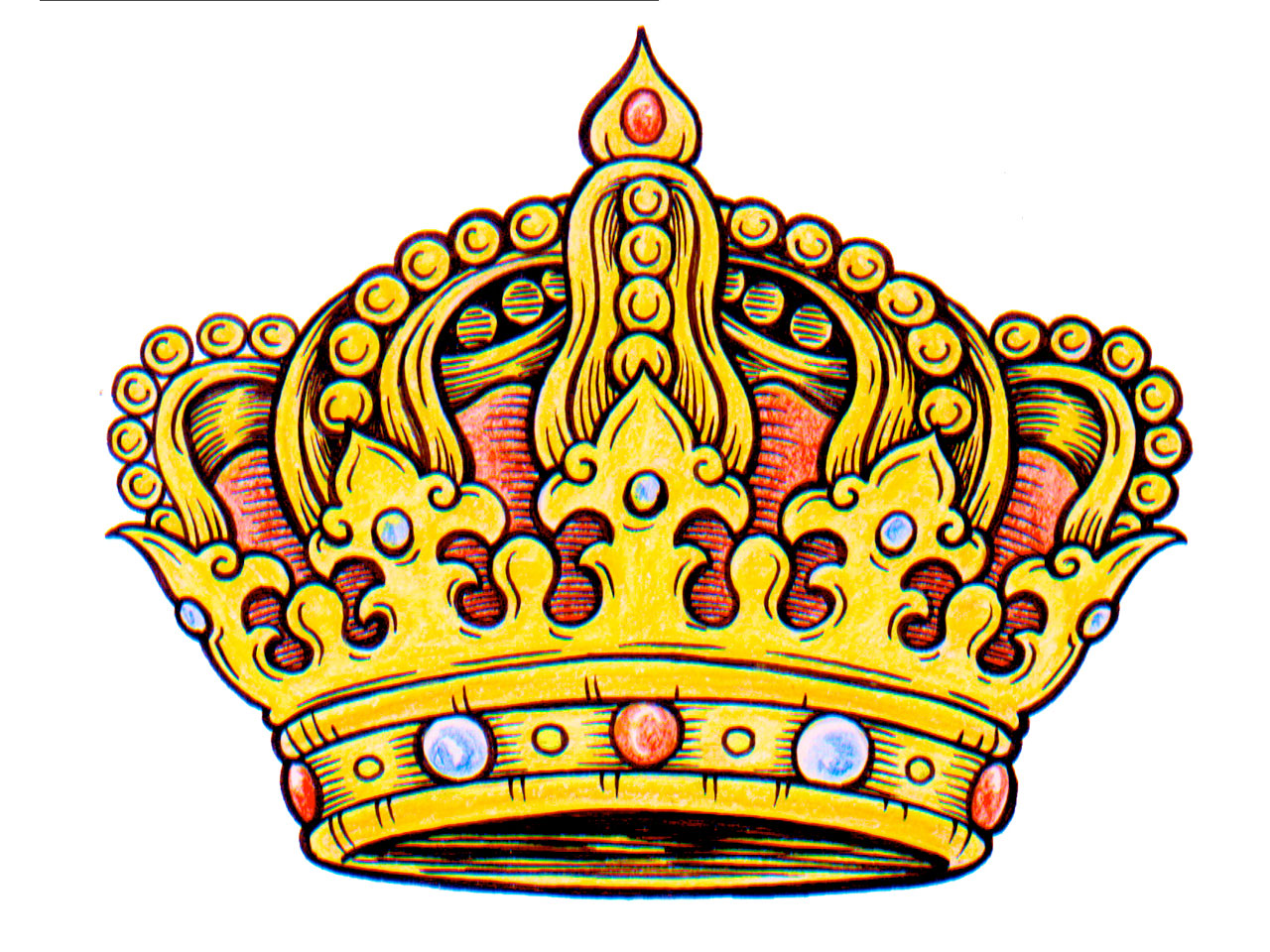1280x960 King Crown Clipart