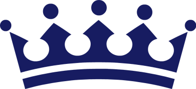 400x181 King Crown Clip Art Image
