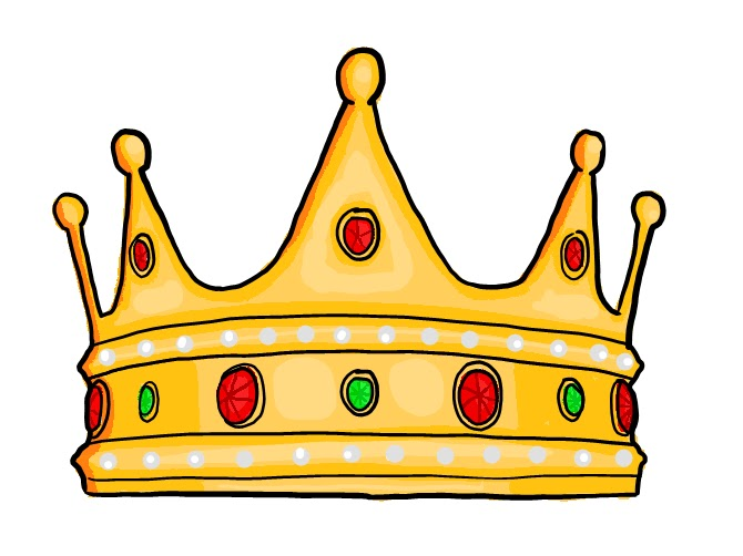 670x502 Kings Crown Template Clipart