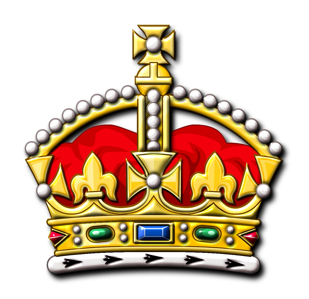 1200x1160 Realistic King Crown Clipart