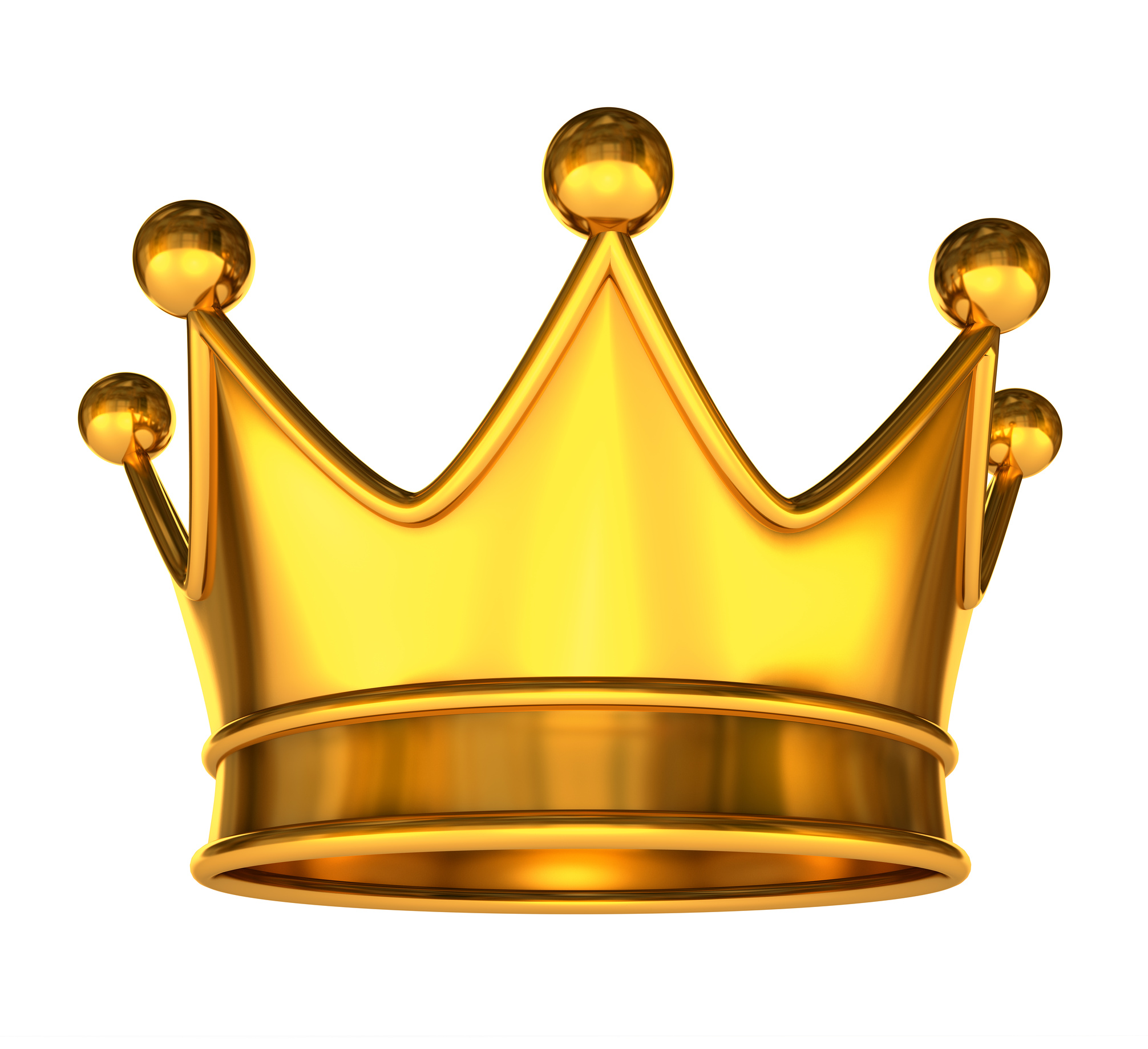 2012x1839 Gold Crown King Clipart