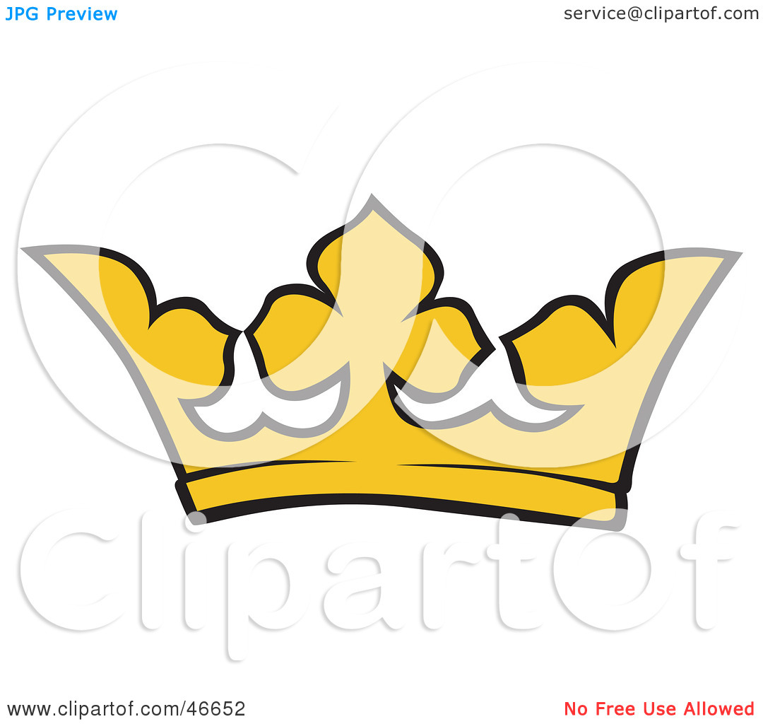 1080x1024 Simple Crown Clipart Clipart Illustration Of A Simple Yellow Kings