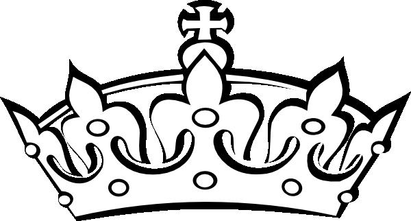 600x322 Crown Outline Clip Art