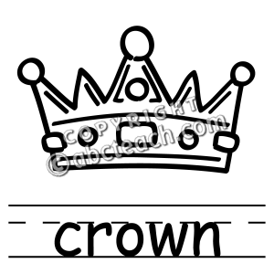 300x300 Crown Drawing Clip Art