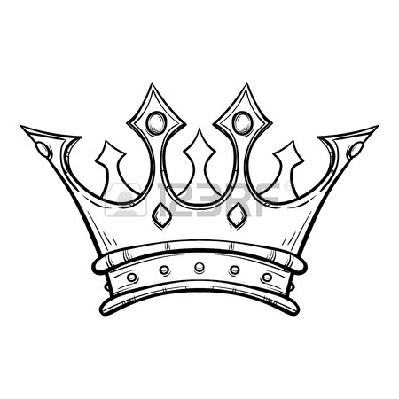 450x450 Hand Drawn King Crown Hand Drawn Royalty Free Cliparts, Vectors