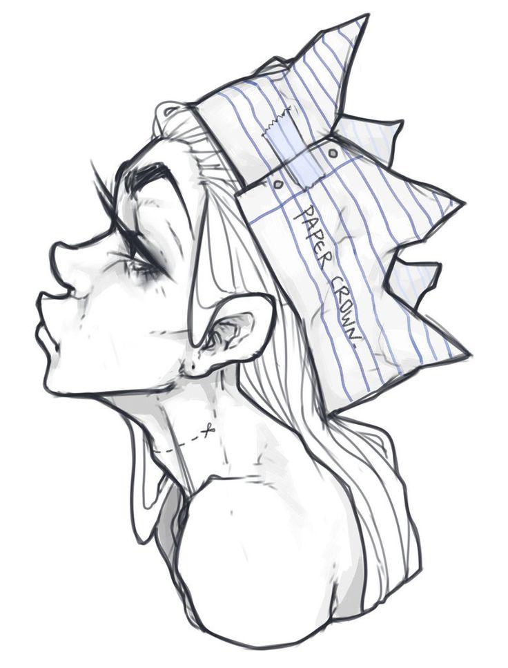 736x967 Best Crown Drawing Ideas Crown Tattoos