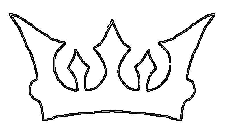 779x452 Simple Crown Drawing
