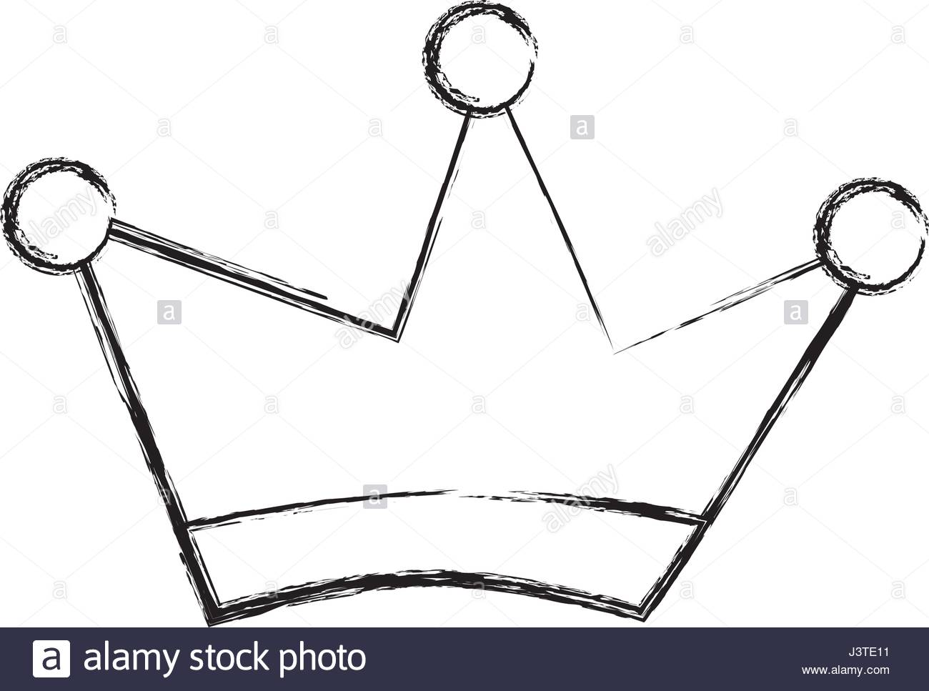 1300x967 King Crown Drawing Isolated Icon Stock Vector Art Amp Illustration