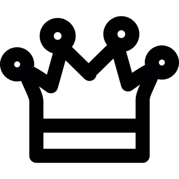 626x626 Crown Of King, Ios 7 Interface Symbol Icons Free Download