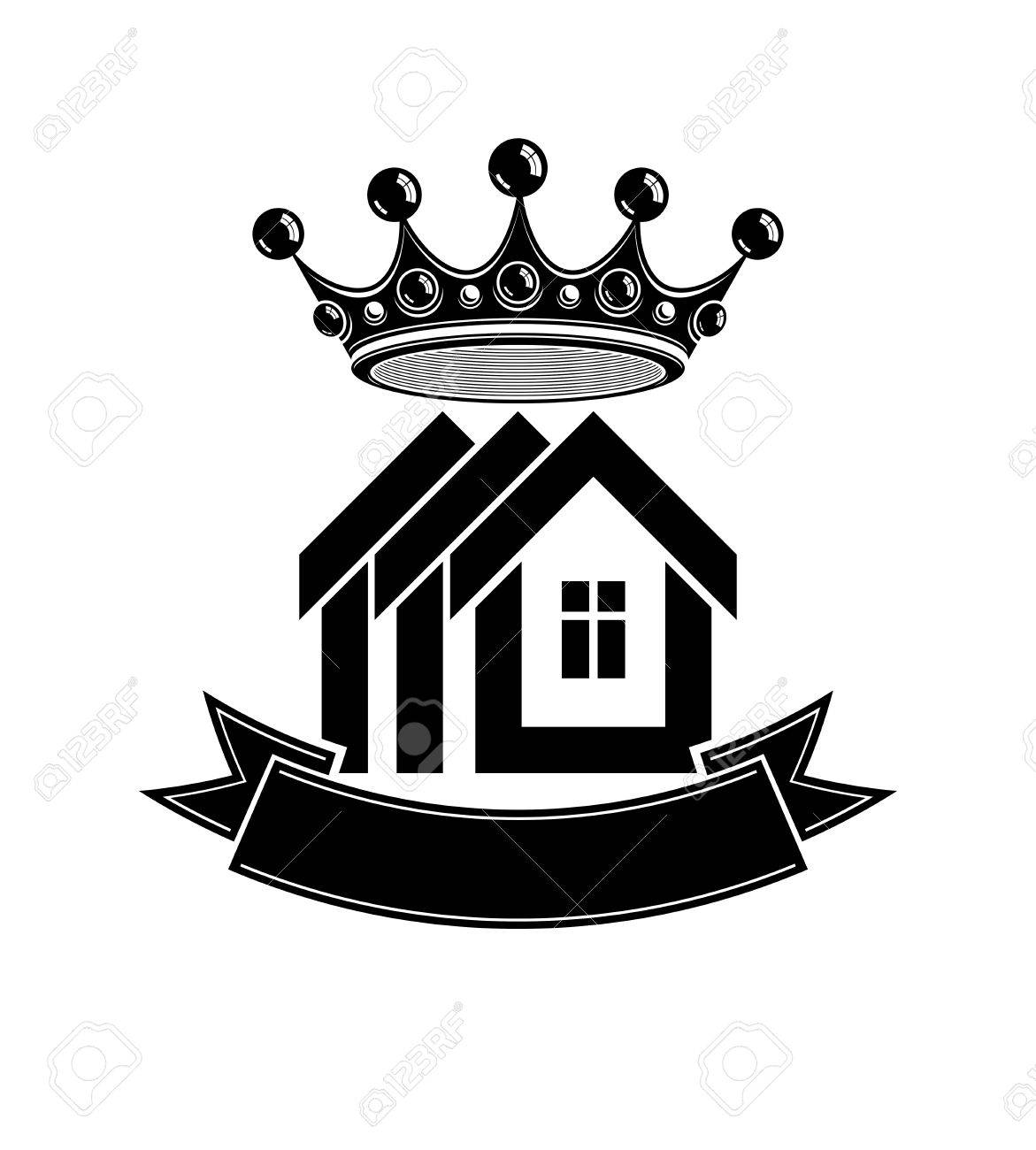 1171x1300 Imperial Coat Of Arms, Royal House Vector Conceptual Symbol