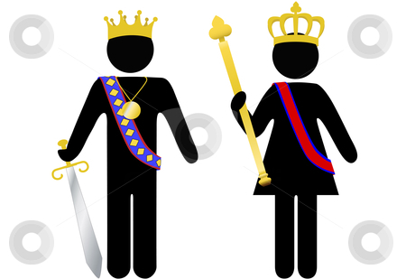 450x309 Queen Clipart King And Queen