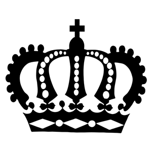 300x300 Royal Crown Silhouette Clipart, Cliparts Of Royal Crown Silhouette