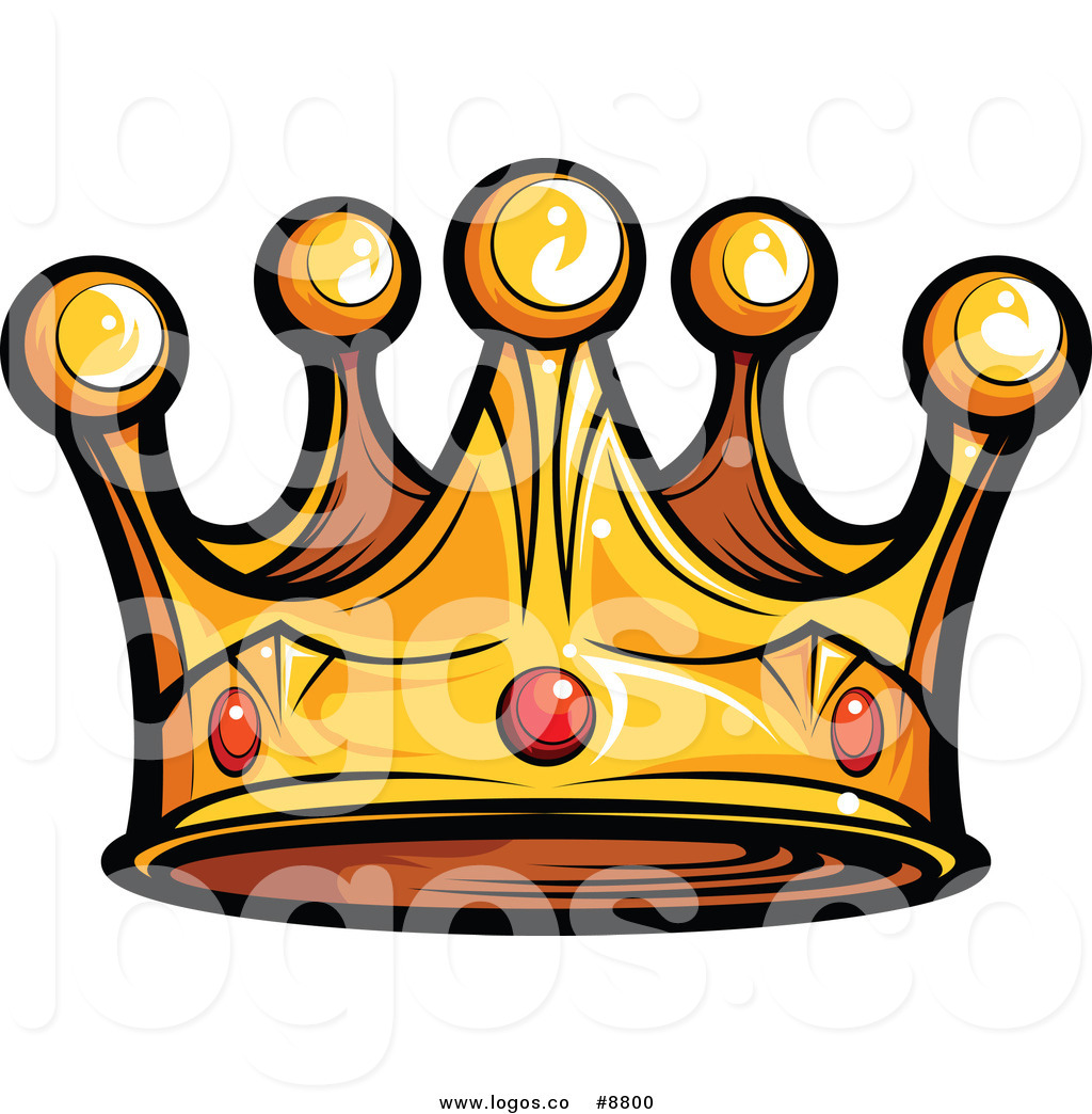 1024x1044 Royalty Free Clip Art Vector Logo Of A Gold King Crown With Ruby