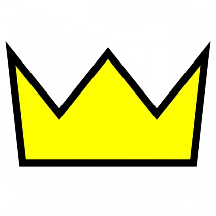 425x425 Clothing King Crown Icon Clip Art Free Vector In Open Office Image
