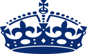 298x186 Blue Prince Crown Clipart