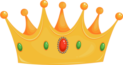 400x212 King Crown Clip Art