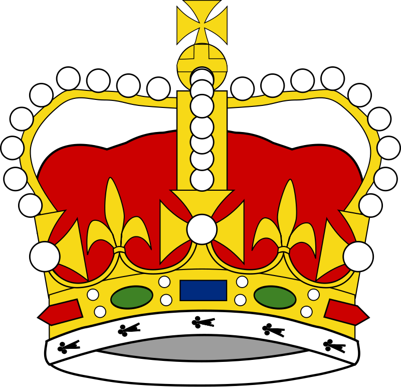 800x771 King Crown Clipart