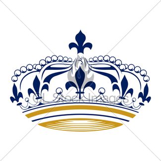 325x325 King Crown Gl Stock Images
