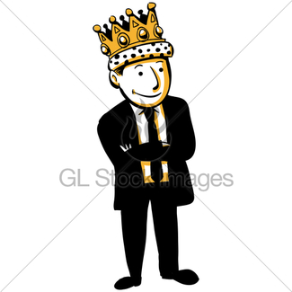 325x325 King Of Business Gl Stock Images