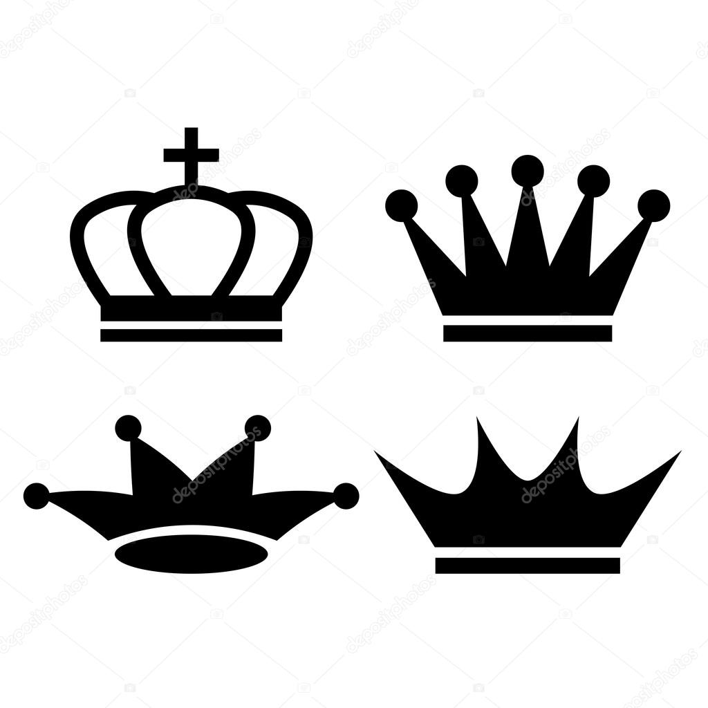 1024x1024 King Crown Icon Stock Vector Arcady