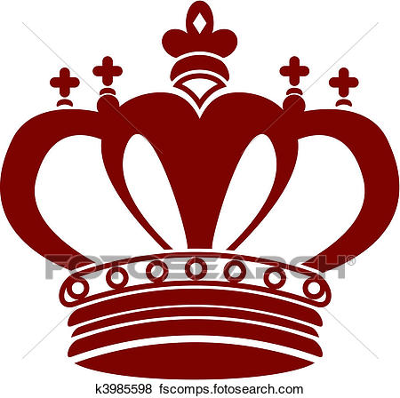 450x448 Clip Art Of King Crown K3985598