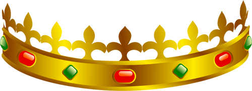 500x182 Vector Clip Art Of A King's Crown Public Domain Vectors