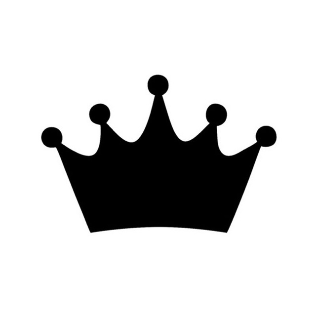 640x640 Wholesale 5pcs,10pcs,149.5cm King Crown Race Car Stickers Cartoon