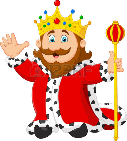 King Crown Vector Clipart