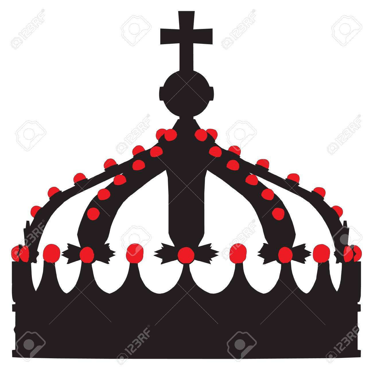 1300x1291 Crown King Vector Outline Silhouette Royalty Free Cliparts