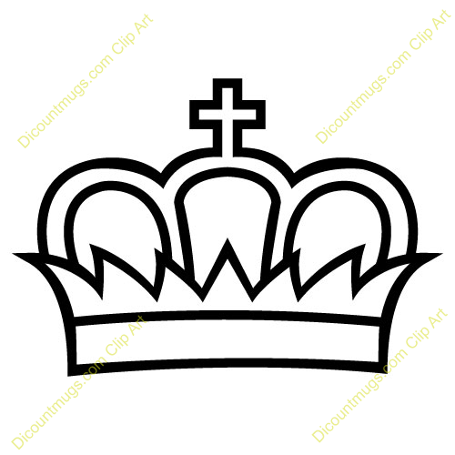 500x500 King Crown Clip Art