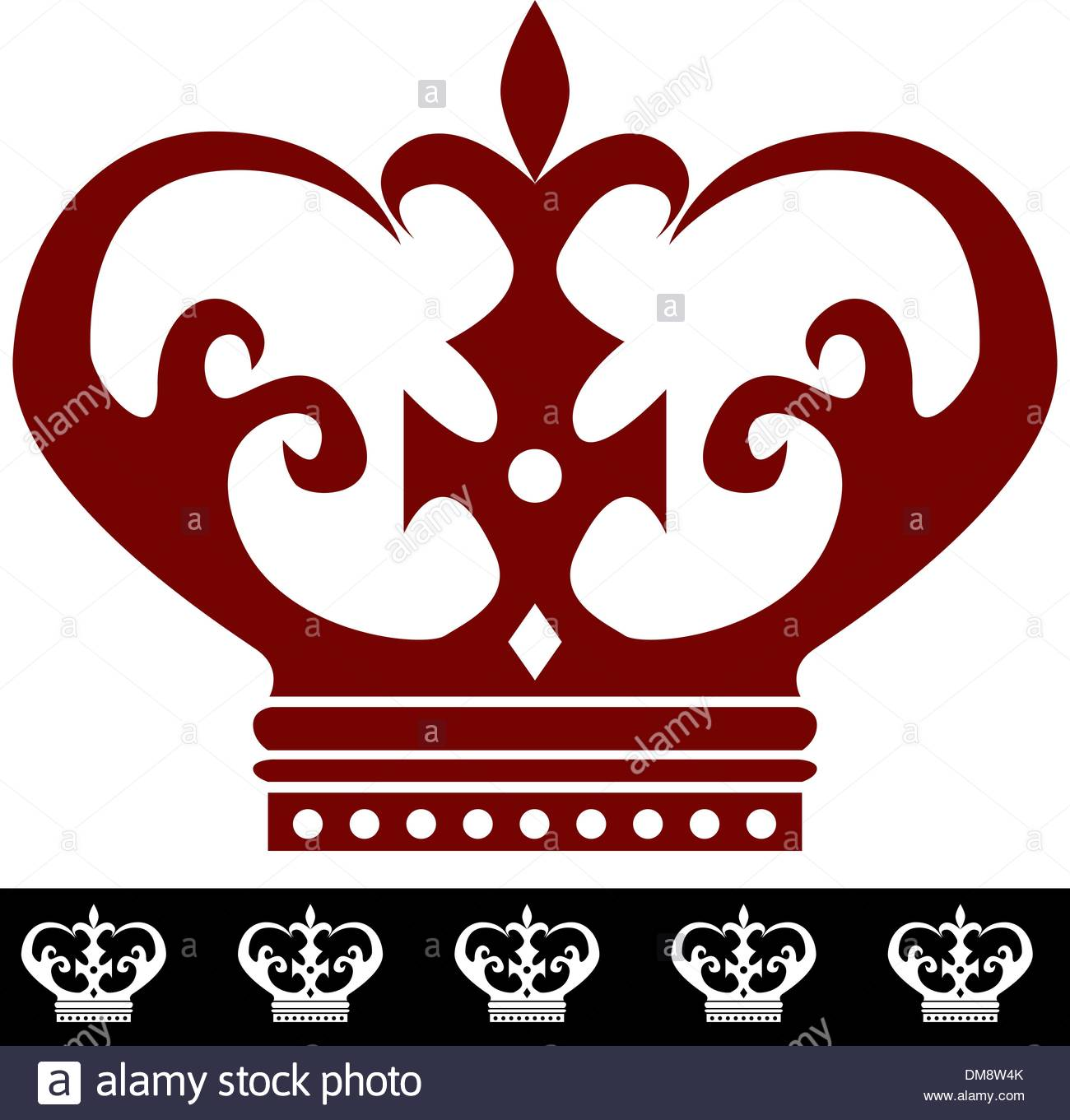 1300x1361 King Crown Icon And Border Stock Vector Art Amp Illustration, Vector