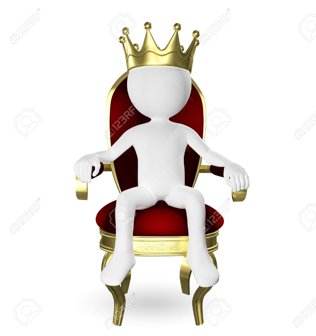 King On Throne