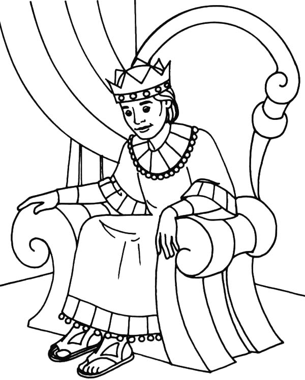 600x748 Coloring Pages Fabulous Throne Coloring Page King Pages 4 Throne