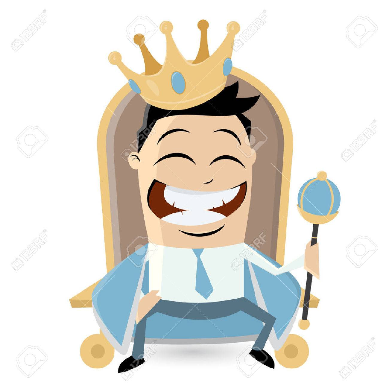 1300x1300 King On Throne Clipart Royalty Free Cliparts, Vectors, And Stock