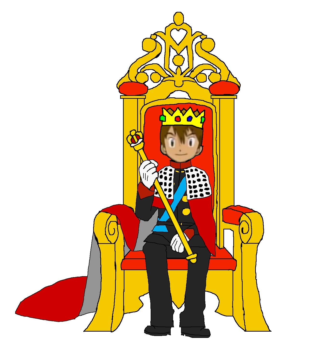 1292x1473 Chairs King On Throne Drawing Clipart Panda Free Clipart