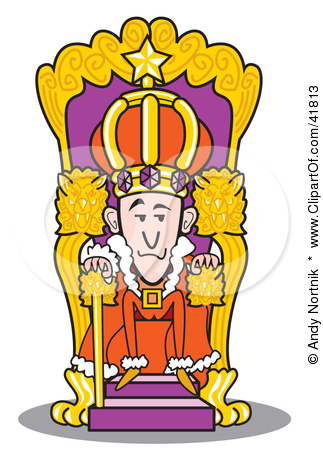 323x450 Evil King On Throne Throne Clipart King Clipart