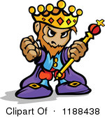 150x169 King On Throne Clipart 1188438 Cartoon Of A Tough King Holding Up